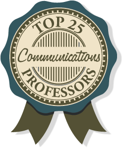 Top 25 communications professors