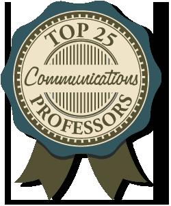 Top 25 communications professors